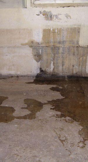 Humidité sous sol